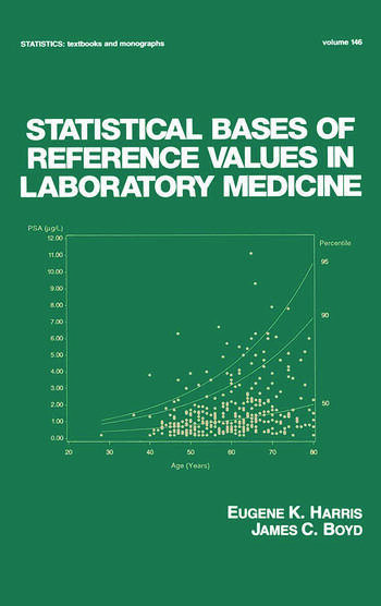 Statistical Bases of Reference Values in Laboratory Medicine book cover