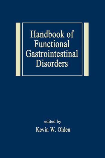 Handbook of Functional Gastrointestinal Disorders book cover