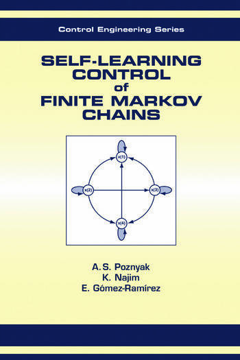 Self-Learning Control of Finite Markov Chains book cover