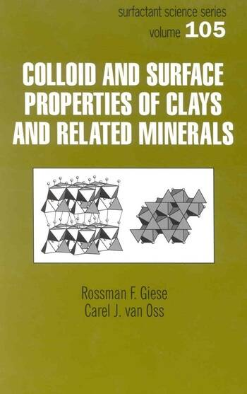 Colloid And Surface Properties Of Clays And Related Minerals book cover