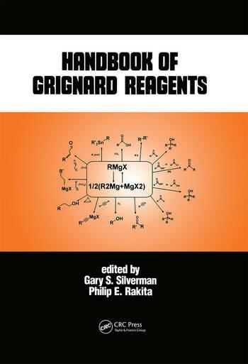 Handbook of Grignard Reagents book cover