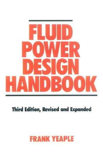 Fluid Power Design Handbook book cover