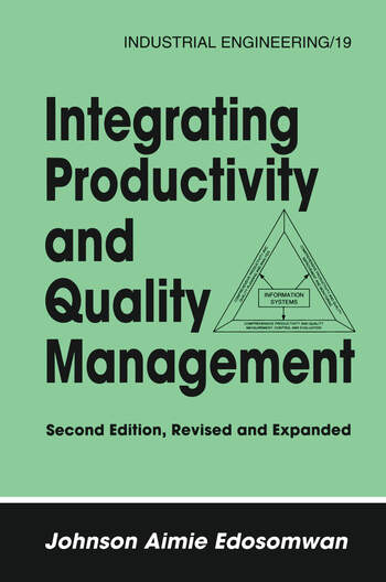 Integrating Productivity and Quality Management book cover