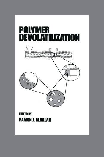 Polymer Devolatilization book cover