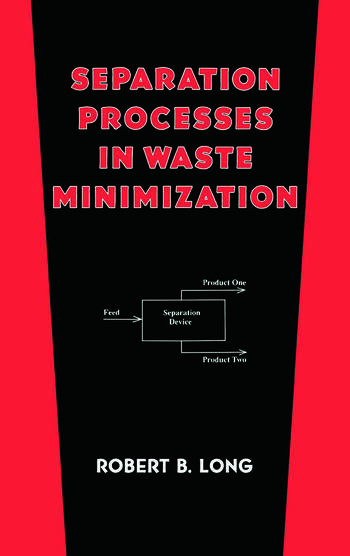 Separation Processes in Waste Minimization book cover