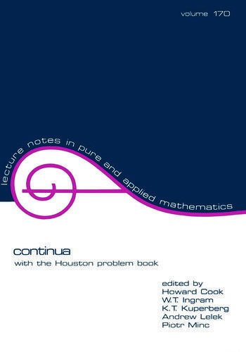 Continua With the Houston Problem Book book cover