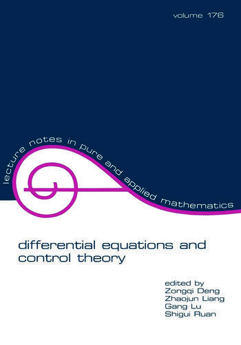Differential Equations and Control Theory book cover