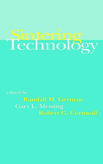 Sintering Technology book cover