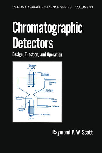 Chromatographic Detectors Design: Function, and Operation book cover