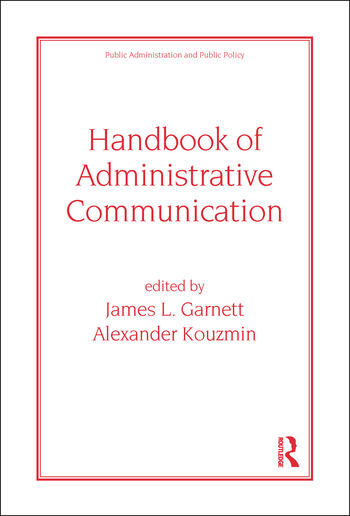 Handbook of Administrative Communication book cover