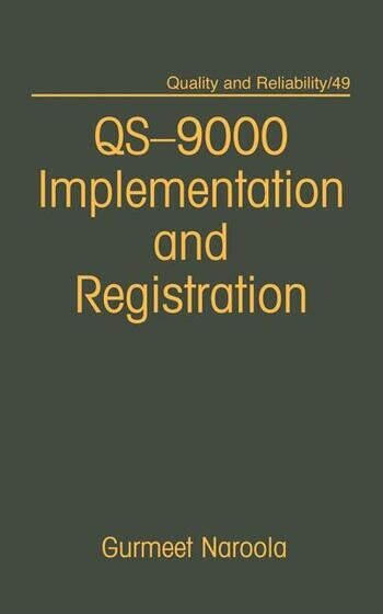 Qs-9000 Registration and Implementation book cover