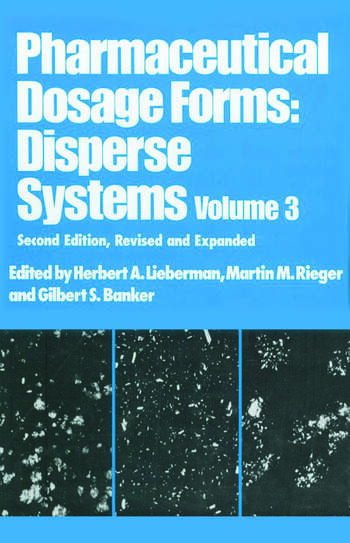Pharmaceutical Dosage Forms Disperse Systems book cover