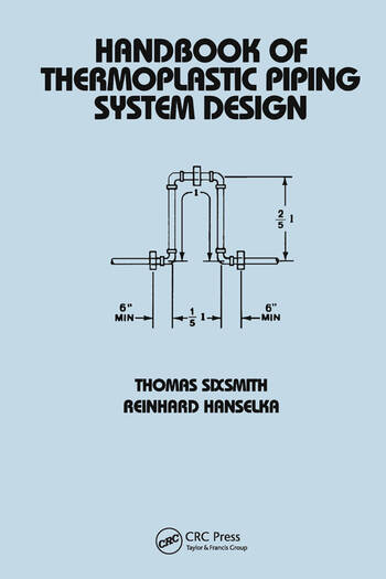 Handbook of Thermoplastic Piping System Design book cover