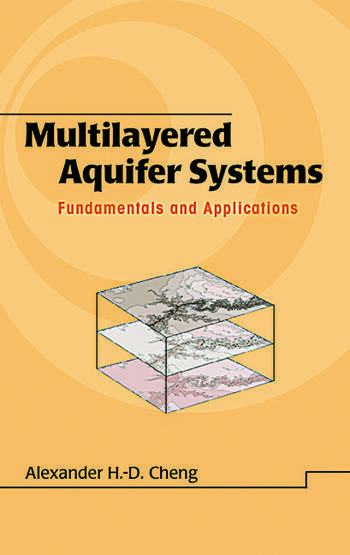 Multilayered Aquifier Systems Fundamentals and Applications book cover