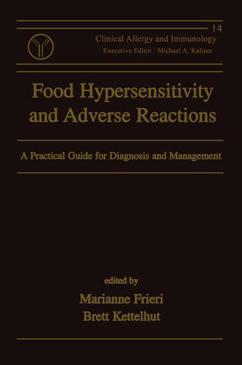 Food Hypersensitivity and Adverse Reactions A Practical Guide for Diagnosis and Management book cover
