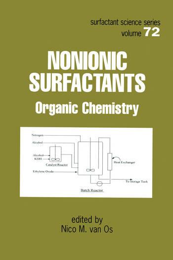 Nonionic Surfactants Organic Chemistry book cover