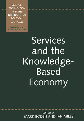 Services and the Knowledge-Based Economy book cover