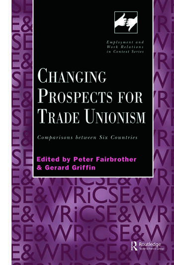 Changing Prospects for Trade Unionism book cover