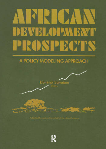 African Development Prospects A Policy Modelling Approach book cover