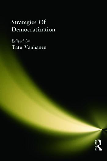 Strategies Of Democratization book cover