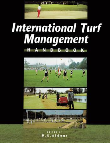International Turf Management Handbook book cover
