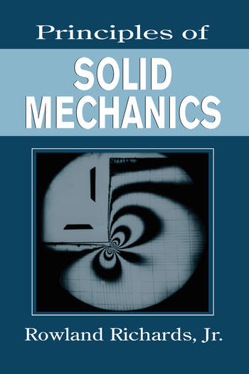 Principles of Solid Mechanics book cover