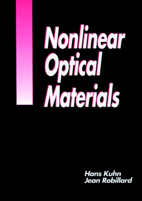 Nonlinear Optical Materials book cover