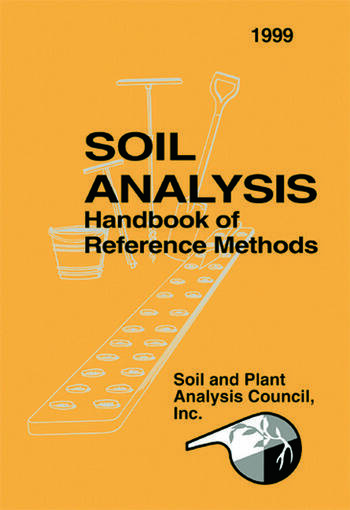 Soil Analysis Handbook of Reference Methods book cover