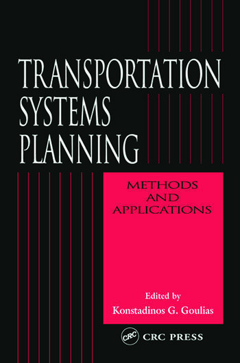 Transportation Systems Planning Methods and Applications book cover