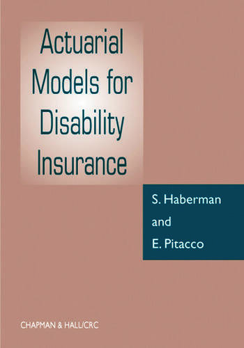Actuarial Models for Disability Insurance book cover