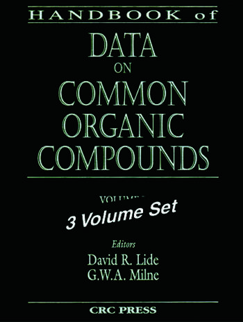 Handbook of Data on Common Organic Compounds book cover