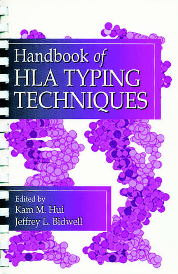Handbook of HLA Typing Techniques book cover