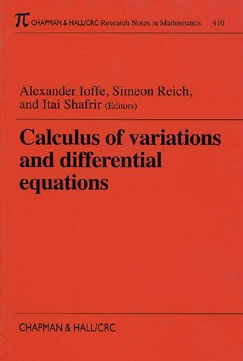 Calculus of Variations and Differential Equations book cover