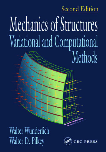 Mechanics of Structures Variational and Computational Methods book cover