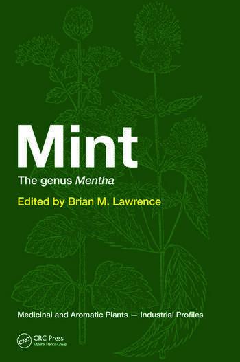 Mint The Genus Mentha book cover