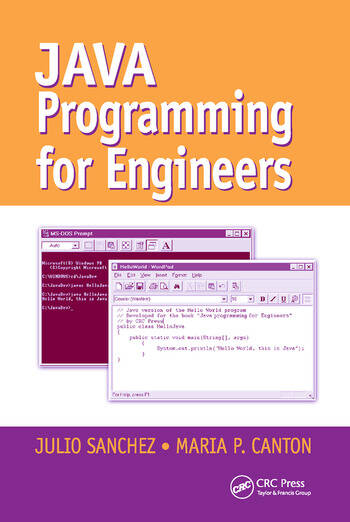 Java Programming for Engineers book cover