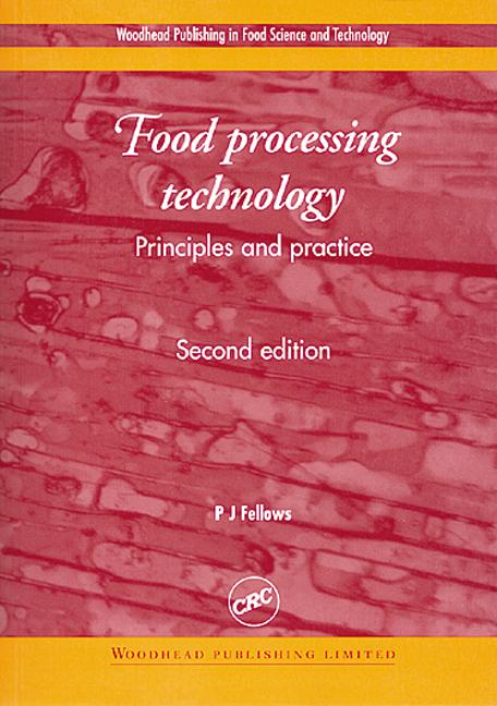 Food Processing Technology Principles and Practice, Second Edition book cover