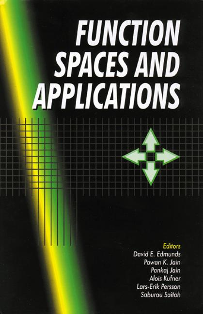 Function Spaces and Applications book cover