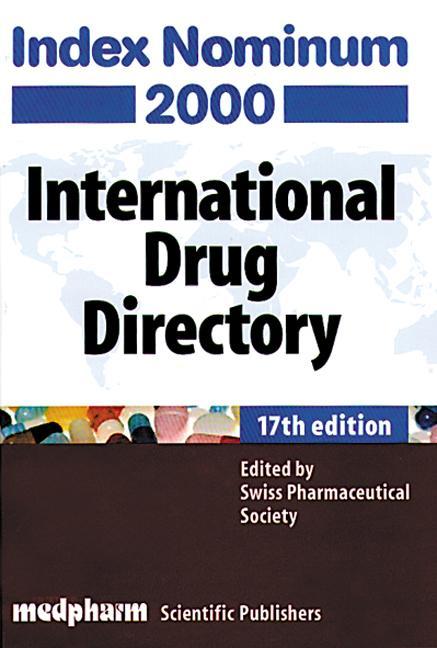 Index Nominum 2000, Seventeenth Edition book cover