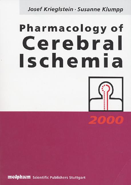 Pharmacology of Cerebral Ischemia book cover