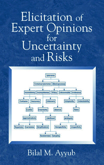 Elicitation of Expert Opinions for Uncertainty and Risks book cover