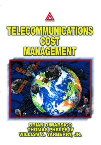 Telecommunications Cost Management book cover