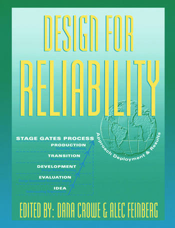 Design for Reliability book cover