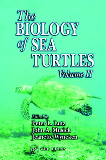 The Biology of Sea Turtles, Volume II book cover