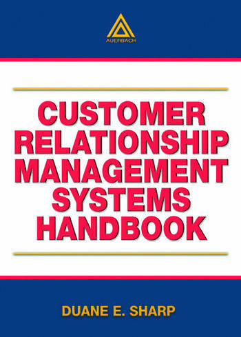Customer Relationship Management Systems Handbook book cover
