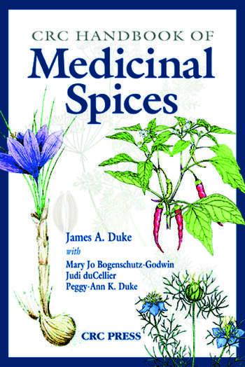 CRC Handbook of Medicinal Spices book cover