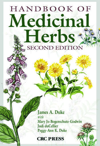 Handbook of Medicinal Herbs book cover