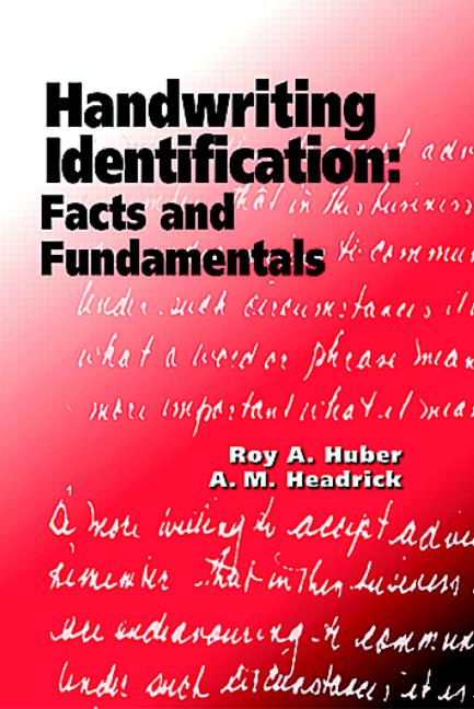 Handwriting Identification Facts and Fundamentals book cover