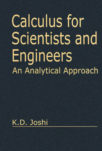 Calculus for Scientists and Engineers An Analytical Approach book cover