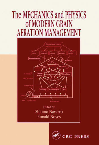 The Mechanics and Physics of Modern Grain Aeration Management book cover